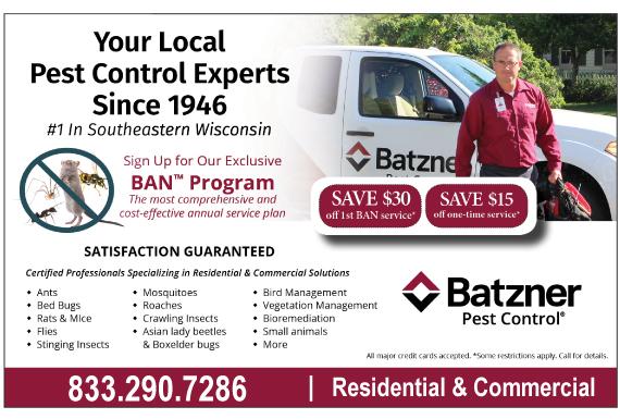 Exclusive Ad: Batzner Pest Control Reading 4074786915 Logo