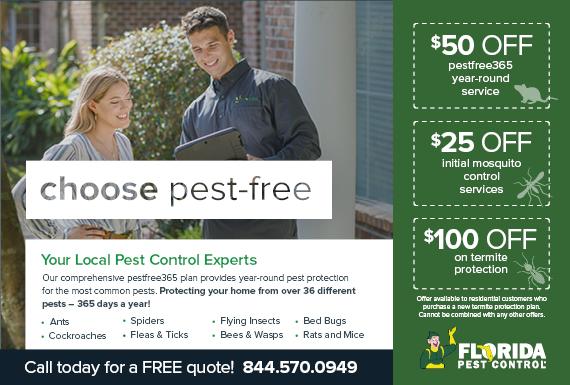 Exclusive Ad: Florida Pest Control- Miami/Ft. Lauderdale Apopka 4843356582 Logo