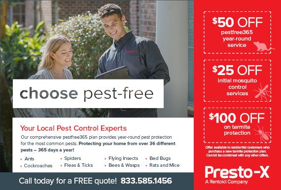Exclusive Ad: Presto-X Adger 4843356374 Logo