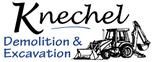 Knechel Demolition & Excavation Logo