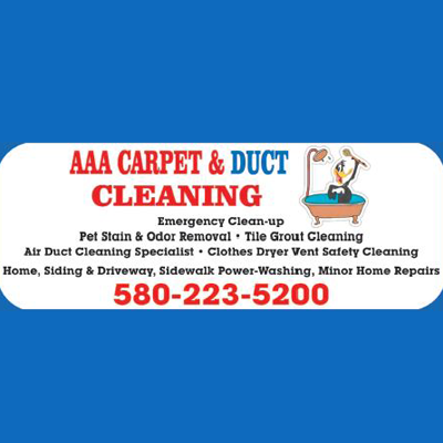 AAA Carpet & Duct Cleaning Logo
