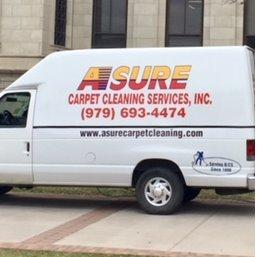 Asure Carpet Cleaning Services Logo