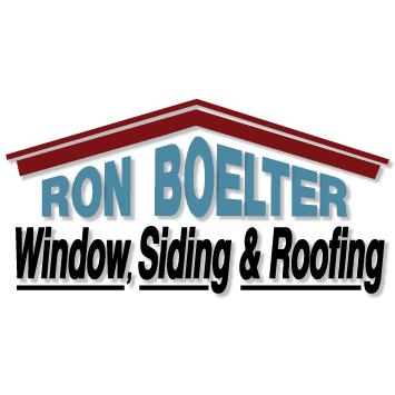 Ron Boelter Window, Siding & Roofing Logo