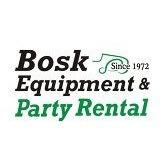 Bosk Equipment And Party Rental Logo