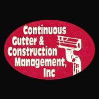 Continuous Gutter & Construction Management, Inc. Logo