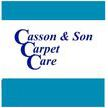 Casson & Son Carpet Care Logo