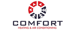 Comfort Heating & Air Conditioning Logo