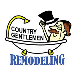 Country Gentlemen Kitchen And Bathroom Remodeling Logo