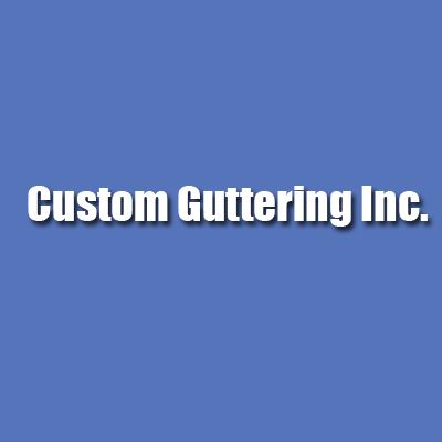 Custom Guttering Inc. Logo
