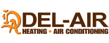 Del-Air Heating & Air Conditioning Logo