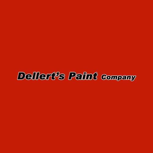 Dellert's Paint Company Logo