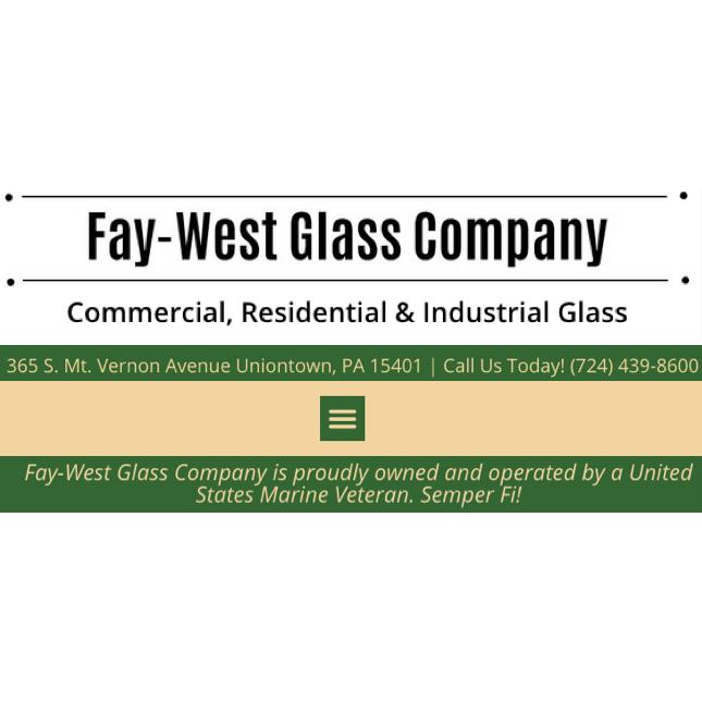 Fay-West Glass Company Logo