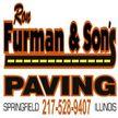 Ron Furman & Son's Paving Logo