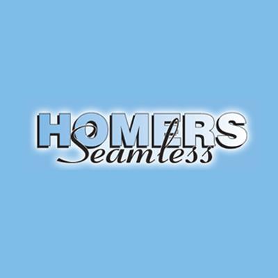 Homers Seamless Siding Logo