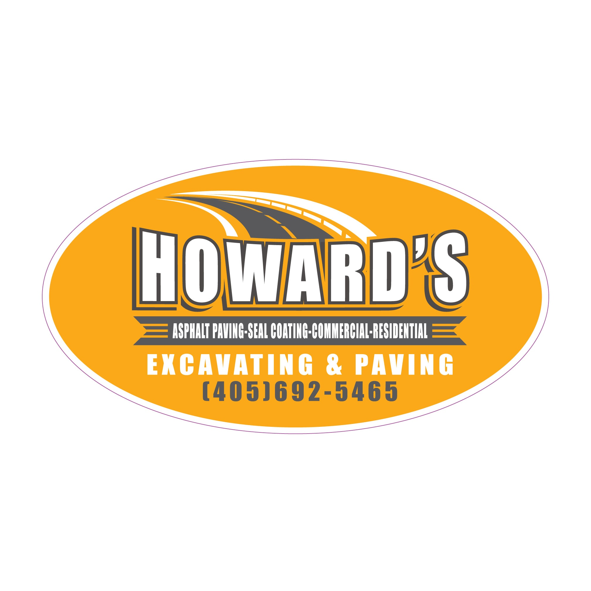 Howard's Excavating & Paving Logo