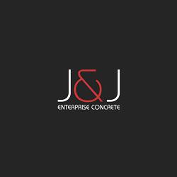 J & J Enterprise Concrete Logo