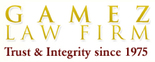 Gamez Law Firm Logo