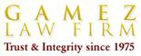 Gamez Law Firm Logo