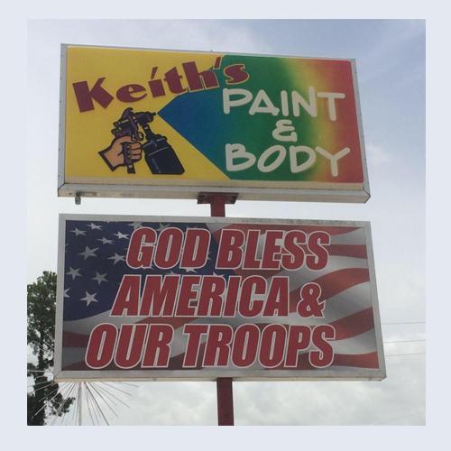Keith's Paint & Body LLC Logo