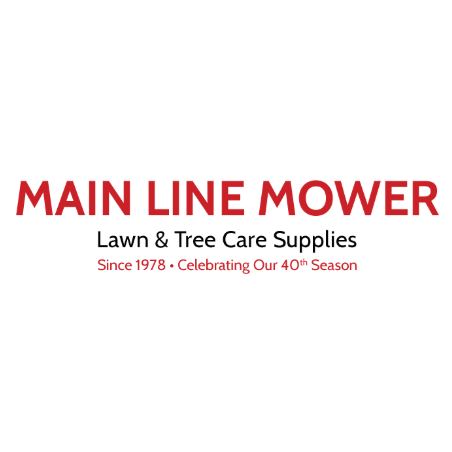 Main Line Mower Lawn and Tree Care Supplies Logo