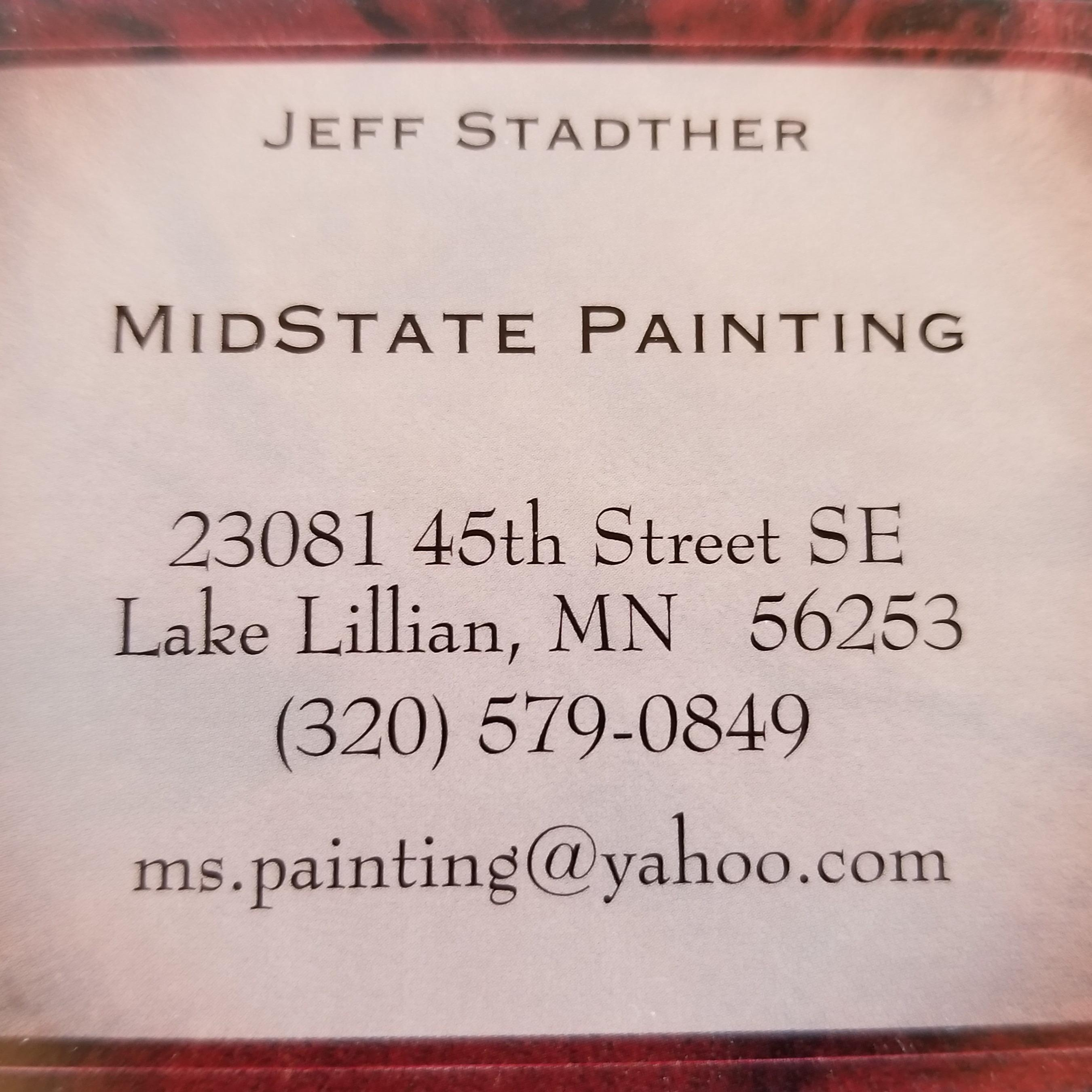Midstate Painting Logo