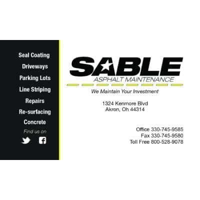 Sable Asphalt & Concrete Logo