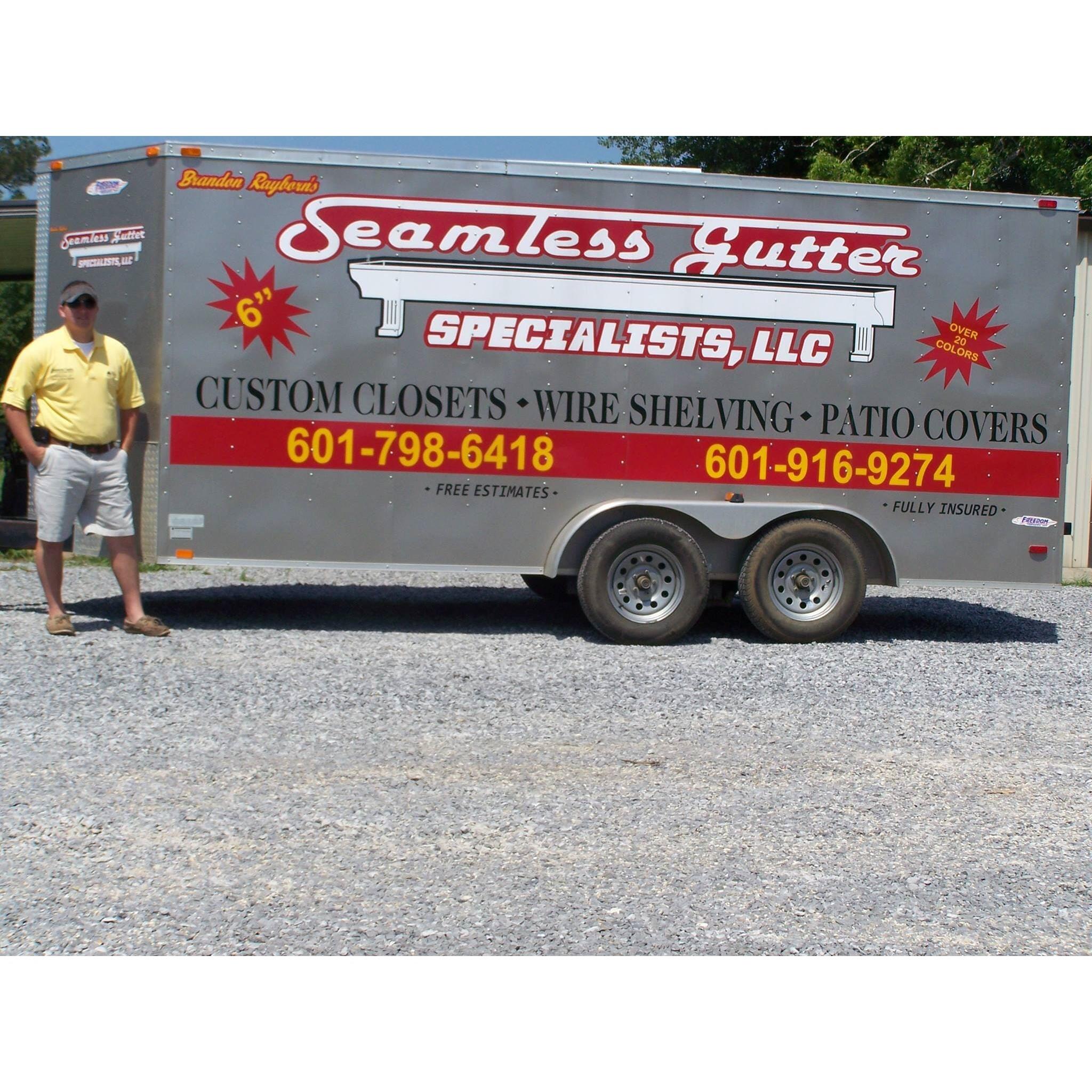 Seamless Gutter Specialists Logo