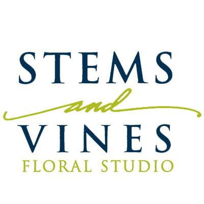 Stems And Vines Floral Studio Logo