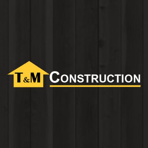 T & M Construction Logo