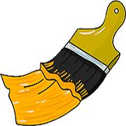 The Brush Works Painting Company Logo