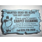 Town and Country Carpet Cleaning Logo