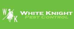 White Knight Pest Control Logo
