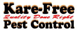Kare-free Pest Control Logo