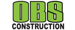O.B.S. Construction Logo