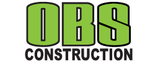 O.B.S. Construction Logo