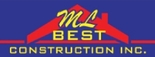 ML Best Construction Logo