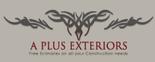 A Plus Exteriors Logo