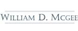 William D Mcgee Logo