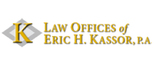 The Law Offices of Eric H. Kassor, P.A. Logo