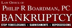 Law Office of Philip R Boardman, PC Logo