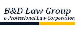 B&D Injury Law Group APLC Logo