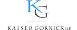 Kaiser Gornick LLP Logo