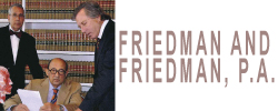 Law Offices of Friedman & Friedman Logo