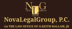 The law office of o. keith hallam logo