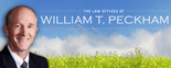 The Law Offices of William T. Peckham Logo