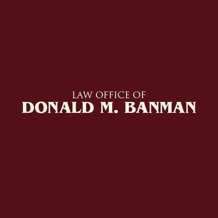 Banman, Donald M. Logo