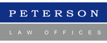 Peterson Law Offices Logo