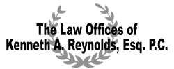 The Law Offices of Kenneth A. Reynolds, Esq. P.C. Logo