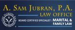 The Law Office of A. Sam Jubran, P.A. Logo