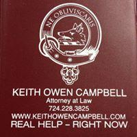 Law office of Keith Owen Campbell Logo